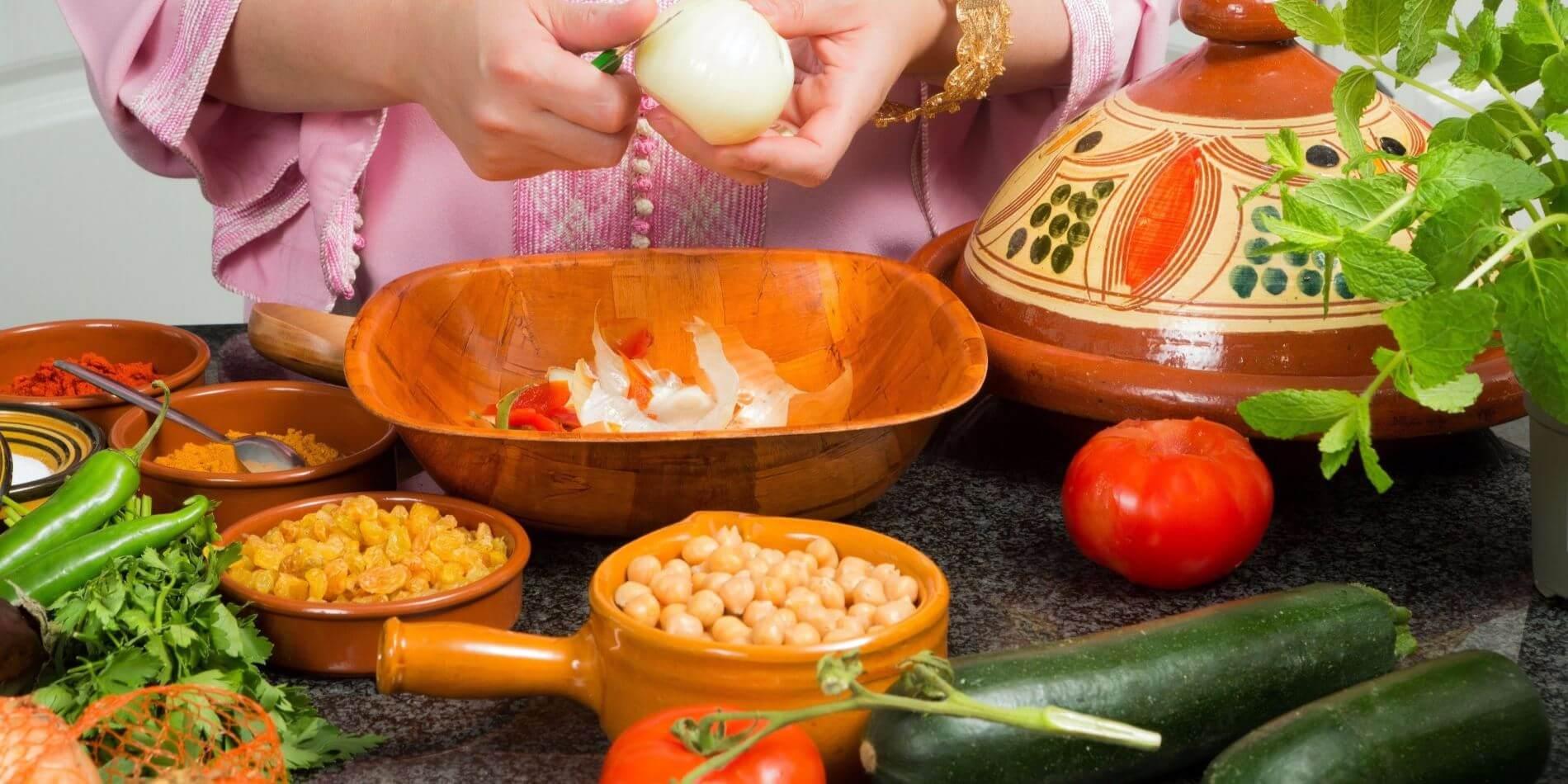 Résultats de recherche d'images pour «cooking class berber couscous»