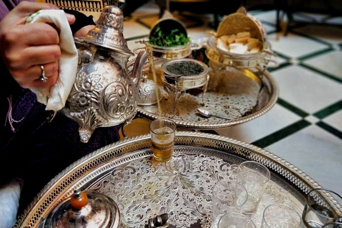 Moroccan Tea Time Experience in a Casablanca Riad